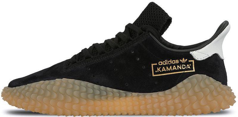 """Мужскиекроссовки adidas Kamanda """"Black"""" (Адидас Каманда) черные"""