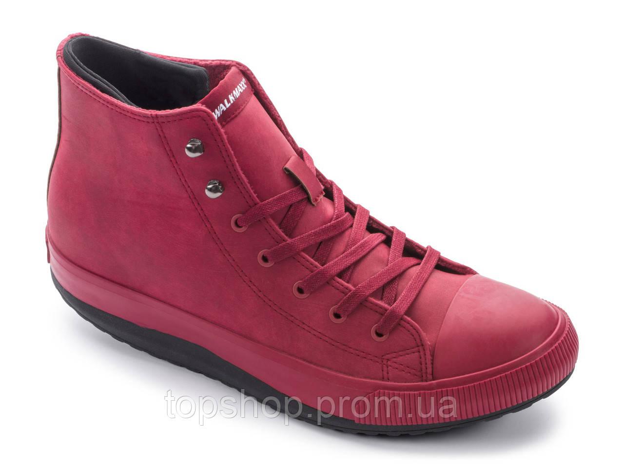 a185f88b5 Кеды высокие Walkmaxx Comfort 3.0 46 Длина стопы 29,5 см Красный - TopShop -