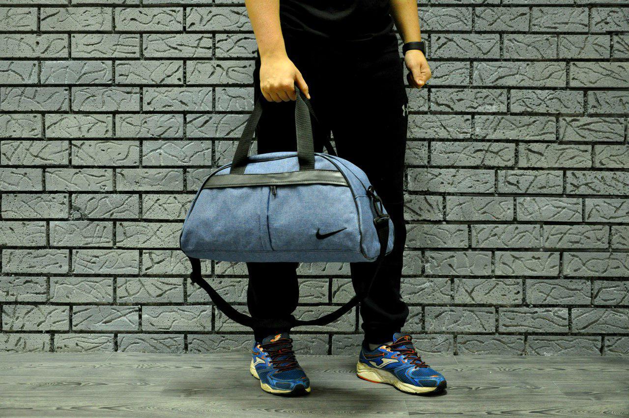 Спортивная сумка в стиле Nike  небольшая