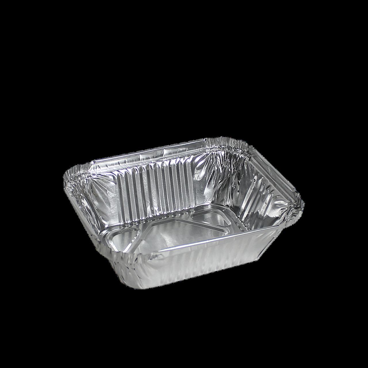 Контейнер прямоугольный из алюминиевой фольги 255мл,123*96*33(SP15L),уп/100шт
