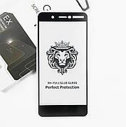 Захисне скло Full cover 2.5 D Premium Nokia 7 Plus Black