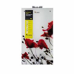 🇺🇦 Колонка газовая дымоходная Thermo Alliance JSD20-10F2 10 л стекло (цветок)