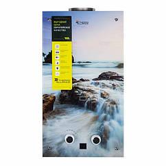 🇺🇦 Колонка газовая дымоходная Thermo Alliance JSD20-10F2 10 л стекло (море)