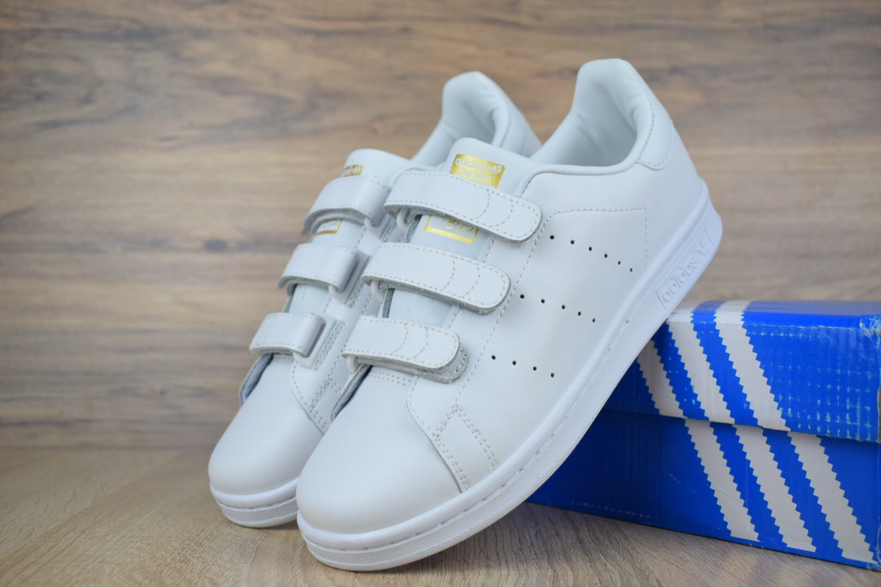 a5e1b475 Женские кроссовки Adidas Stan Smith.Липучка - Интернет магазин ILike в Кривом  Роге