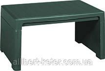 Стіл LAGO LOUNGE SIDE TABLE зелений (Allibert)