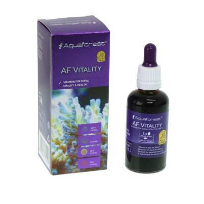 Концентрат витаминов для кораллов Aquaforest AF Vitality 50мл, фото 2