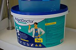 Коагулянт в гранулах AquaDoctor FL 5 кг. Средство против мутности и для осветления воды бассейна.