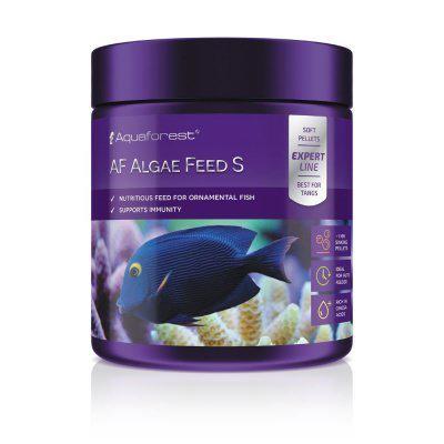 Корм для морських рослиноїдних риб Aquaforest AF Algae Feed Algae Feed S (1мм) 155г