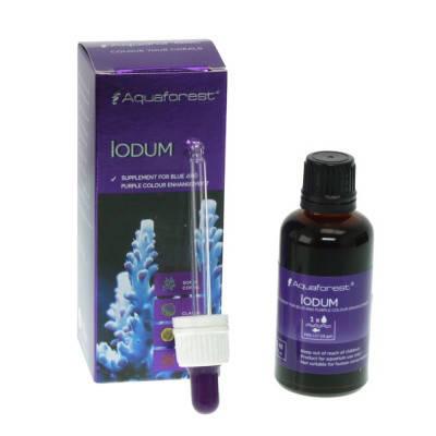 Йод (I) для морского аквариума Aquaforest Iodum 10мл, фото 2