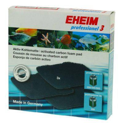 Фильтрующие губки/прокладки для EHEIM professionel 3/4+ professionel 4+ 250/350/600; Прокладка с карбоном, фото 2