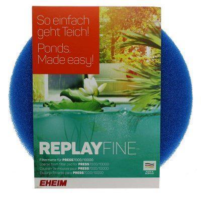 Фильтрующий материал для EHEIM PRESS7000/10000 Мелко пористая губка REPLAYFINE