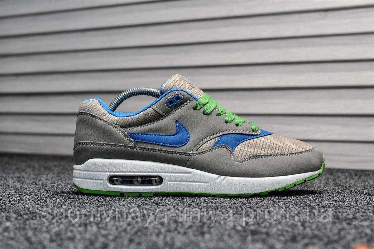 Кроссовки мужские серые Nike Air Max 87 (реплика)