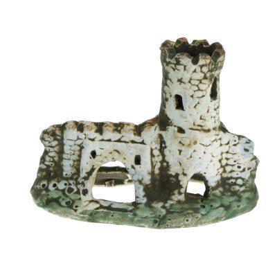 Грот керамический Aqua Nova развалина замка 11,5x9см