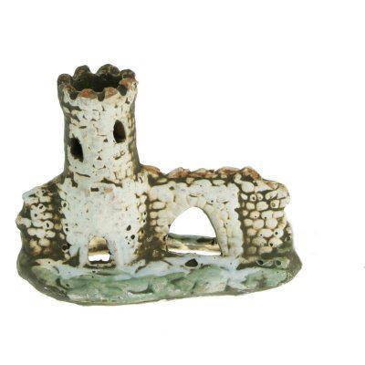 Грот керамический Aqua Nova развалина замка 11,5x9см, фото 2