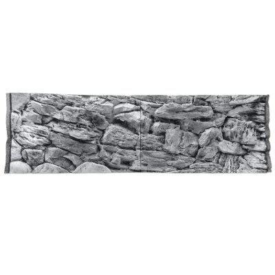 Фон скала серая для аквариума ATG line 150x50см