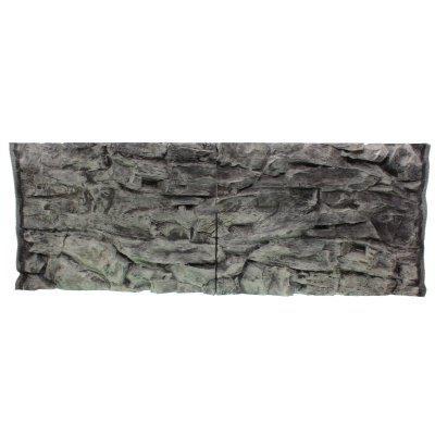 Фон скала серая для аквариума ATG line 150x60см