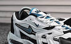 Кроссовки мужские белые Nike Air Max 96 White Teal (реплика), фото 2