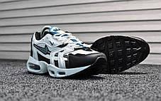 Кроссовки мужские белые Nike Air Max 96 White Teal (реплика), фото 3
