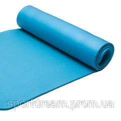 Коврик для йоги и фитнеса из каучука Power System PS-4017