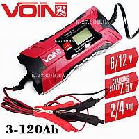 Зарядное устройство для автомобильных и прочих аккумуляторов VOIN VL-144 (6-12 V)