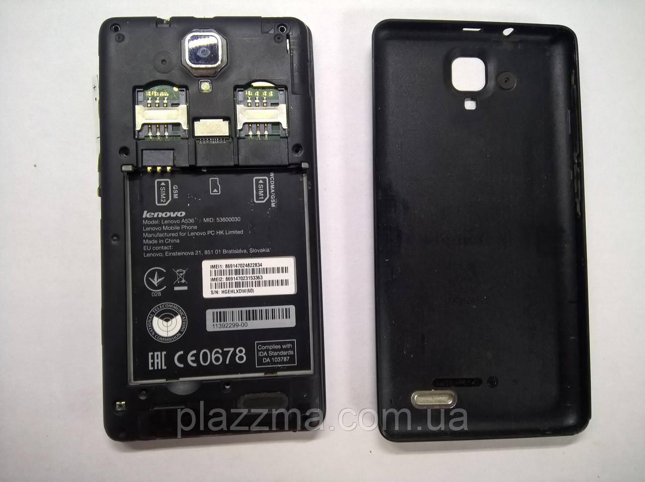 Смартфон Lenovo A536 Розбирання