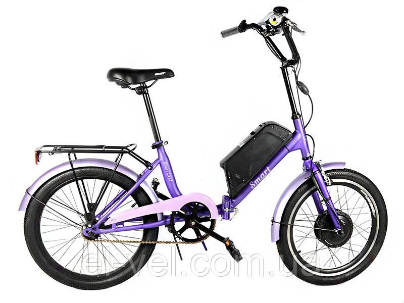 Электровелосипед АИСТ SMART20 XF15 LCD3U 36В 400Вт литиевая батарея 11Ач
