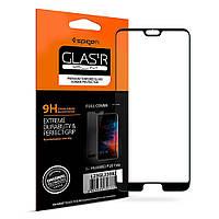 Защитное стекло Spigen для Huawei P20 Pro Full Cover, Black , фото 1