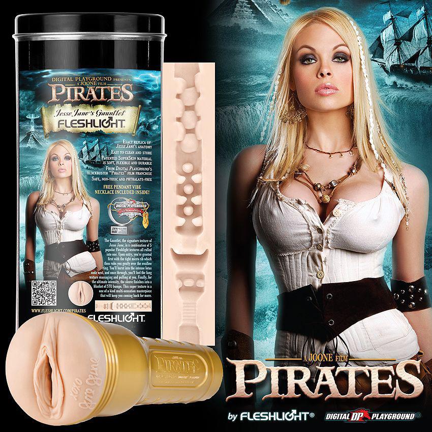 Мастурбатор Fleshlight Girls: Pirates Edition. Jesse Jane Gauntlet