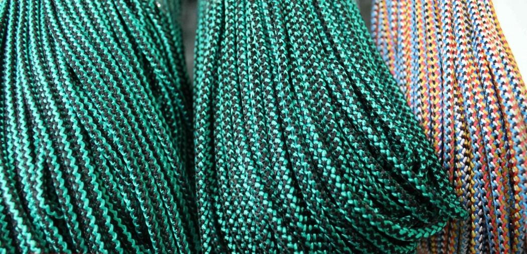 Шнур полипропиленовый твердый цветной 5мм 50м