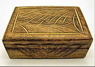 "Шкатулка из мангового дерева ""Антик"" (15х10х6 см)(6"" Х 4"")"