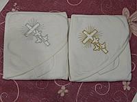 Крыжма крестильная с уголком и салфеткой