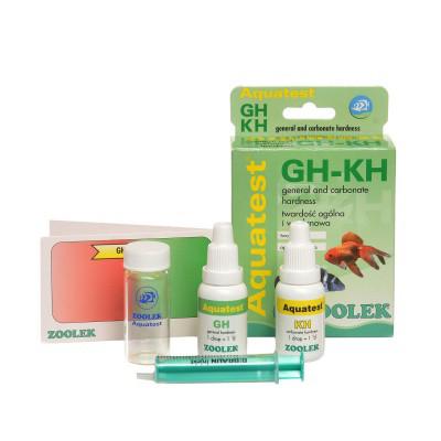 Тест жесткость воды Zoolek Aquatest GH-KH Полный комплект