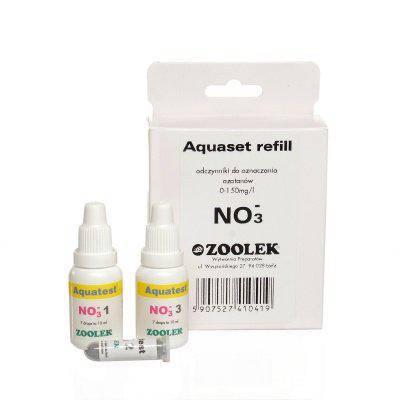 Тест на содержания нитратов Zoolek Aquatest NO3 Реагент, фото 2
