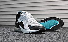 Кроссовки мужские черные Nike Air Max 270 Dirty Cactus (реплика), фото 2