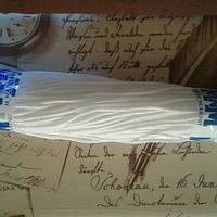 Шнур полипропиленовый твердый белый 5мм 100м
