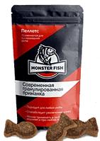 Monster Fish (Монстер Фиш) - рыболовная приманка в форме гранул. Фирменный магазин. Цена производителя.