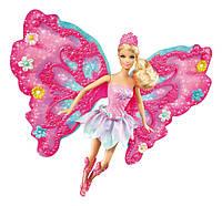 """Кукла Barbie фея """"Порхающий цветок"""" в розовом Барби, фото 1"""