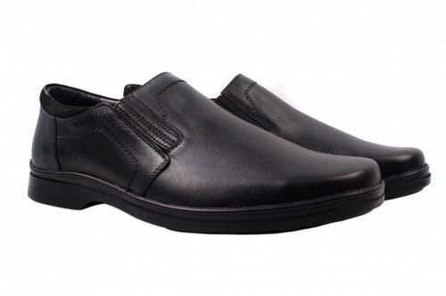 Туфли комфорт Mida натуральная кожа, цвет черный