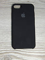 Silicone Case iPhone 7/8  Black (черный), фото 1