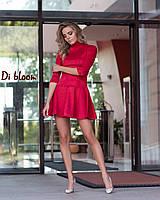 Платье из замши с пышной юбкой 50031854, фото 1