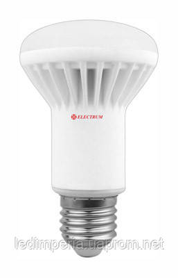Лампа светодиодная Electrum R63 LR-16 8W E27 4000K керам. корп.