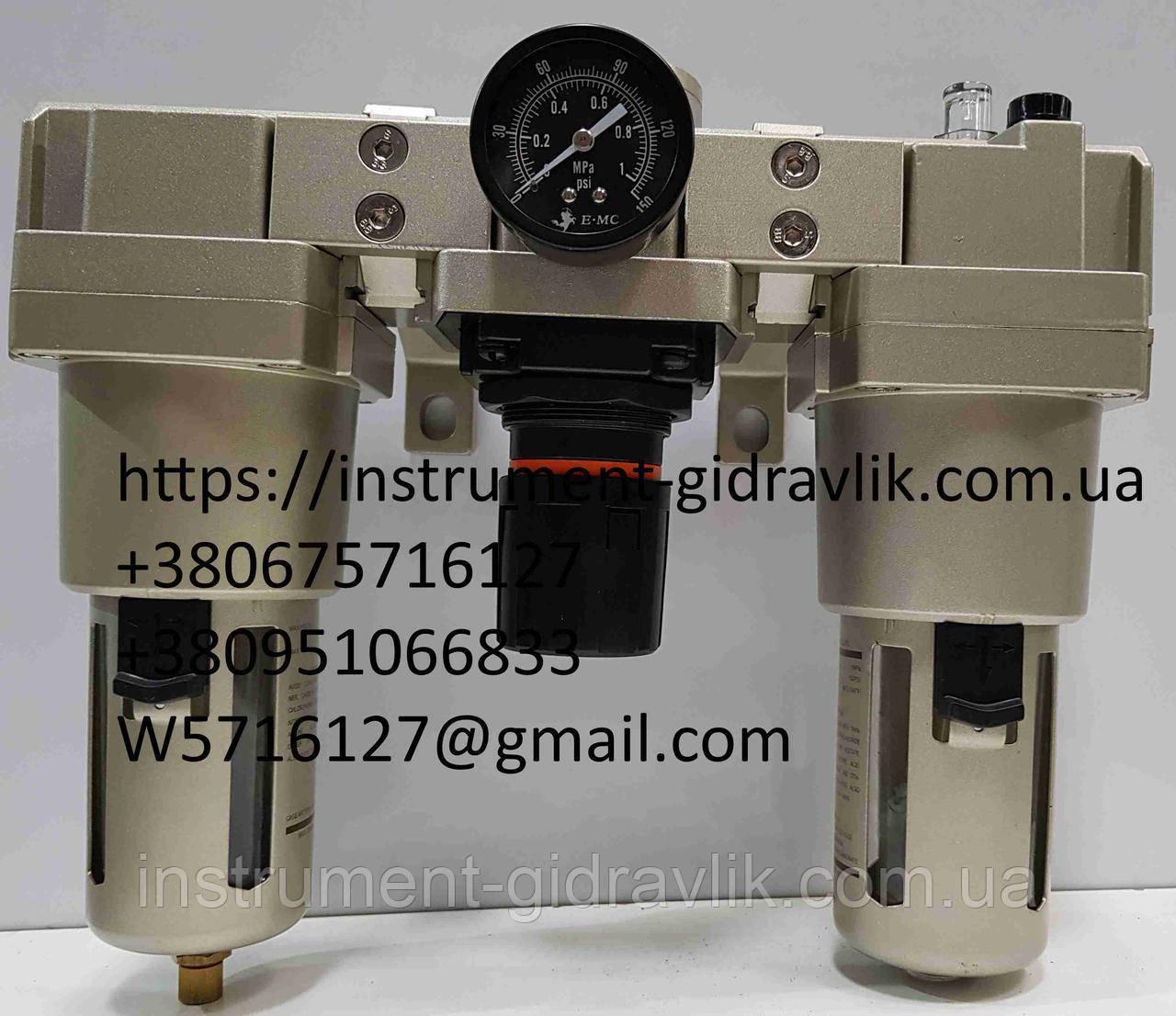 Блок подготовки воздуха ЕС 4000-04 5200L/min G1/2 10bar (аналог П-БК,БК)