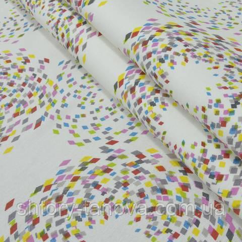 Декоративна тканина для штор, абстракція
