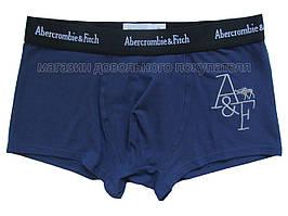 Мужские трусы боксёры Abercrombie&Fitch (реплика) синие
