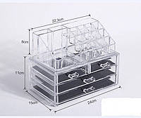 Органайзер для хранения косметики DRESSING CASE W/4 DRAWER
