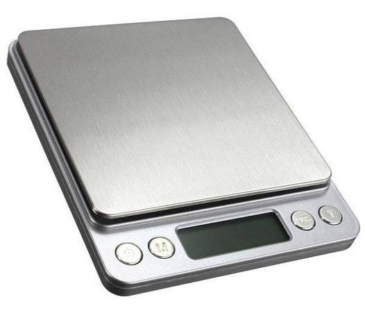 Электронные весы кухонные/лабораторные до 3 кг/0,1 гр (две чаши)