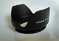 Бленда лепестковая пластиковая объектива  58 мм Canon Nikon Sony Pentax, фото 1