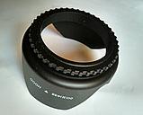 Бленда лепестковая пластиковая объектива  58 мм Canon Nikon Sony Pentax, фото 4