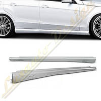 Пороги стиль AMG для Mercedes E-Class W212, фото 1