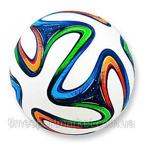 Футбольный мяч Brazuka белый 5